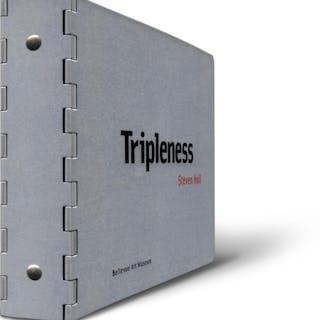 Steven Holl: Tripleness. HOLL, Steven. Architecture,Design,Signed Books