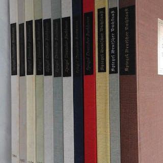 Spiegel deutscher Buchkunst 1955-1966. Walter Richter, Harry Fauth.