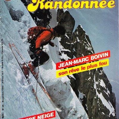 Revue Alpinisme et randonnée SIGNEE par Jean-Marc BOIVIN