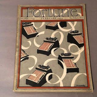 Fortune Magazine, February 1933 Luce, Henry R. (editor)