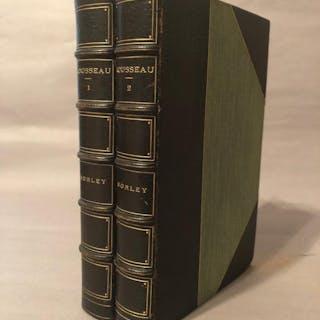 Rousseau Morley, John Leather Bound Books