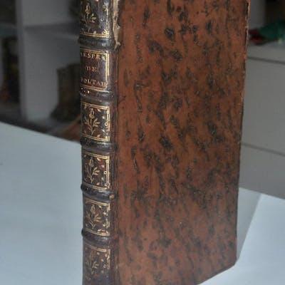 L'esprit de M. Voltaire [VILLARET (Claude)] Editions originales,XVIIIéme siècle