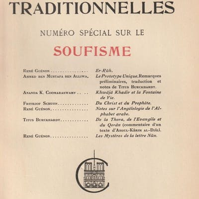 Etudes Traditionnelles