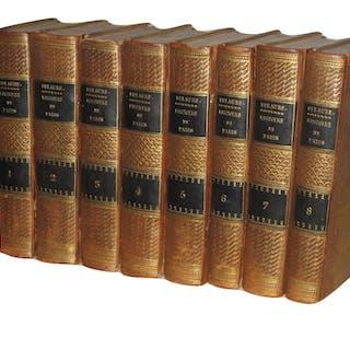 Histoire physique civile et morale de Paris. Édition originale 1821 Dulaure