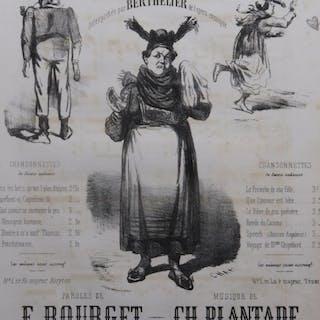 PLANTADE Charles La Chanson de Fortunia ca1840 PLANTADE...