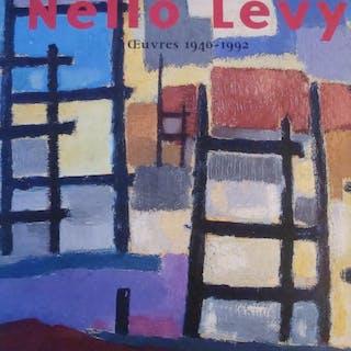 Nello Lévy œuvres 1940-1992 in-4,relié avec jaquette,183...