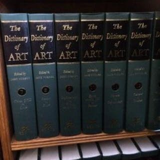The Dictionary of Art, Volumes 1 - 34, Complete Set   Art