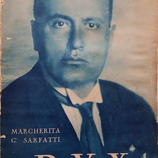 DUX. SARFATTI, Margherita G. (FASCISMO) biografie - storia - fascismo