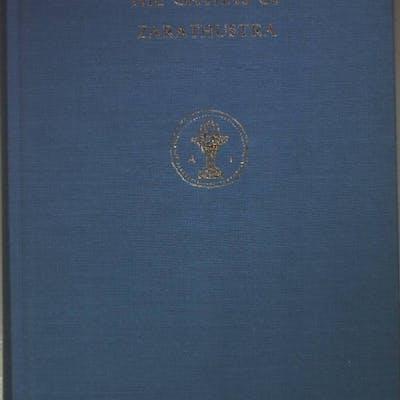 The Gathas of Zarathustra