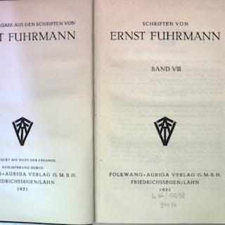 Schriften: BAND VIII: Staat und Individuum (nummeriertes...