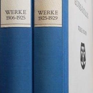 Max Ernst: Oeuvre-Katalog/ Werke (2 Bände) - Werke 1906/1925 - Werke 1925-1929