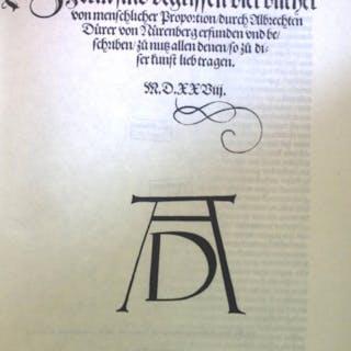 Proportionslehre. Dürer, Albrecht: 207 Medizin & Pharmazie