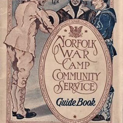 NORFOLK WAR CAMP COMMUNITY SERVICE GUIDE BOOK [cover title]