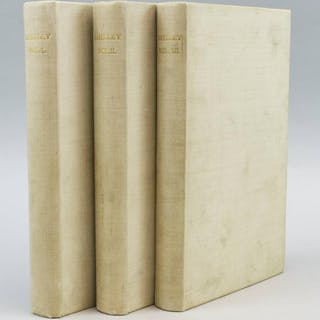 THE POEMS (VALE PRESS). SHELLEY, PERCY BYSSHE Poetry,Private Press