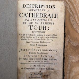 Description Nouvelle de la Cathédrale de Strasbourg