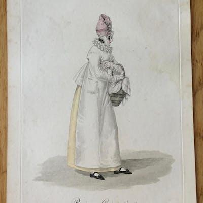 Paris. Cuisinière. Gatine (Georges-Jacques) Gravures,Les femmes,Paris