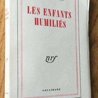 Les enfants humiliés Bernanos (Georges) Bibliophilie,Littérature