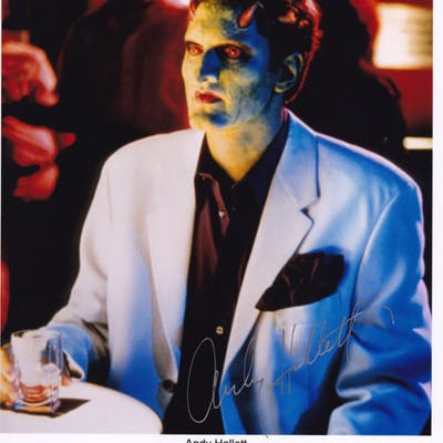 Andy Hallett as Lorne Angel TV Show Large Hand Signed Photo