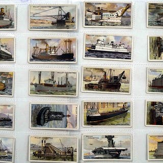 Full Set of 50 Cigarette Cards Strange Craft (1931)...