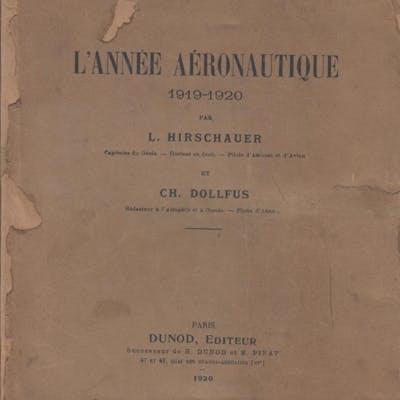 L'Année aéronautique 1919-1920 par L