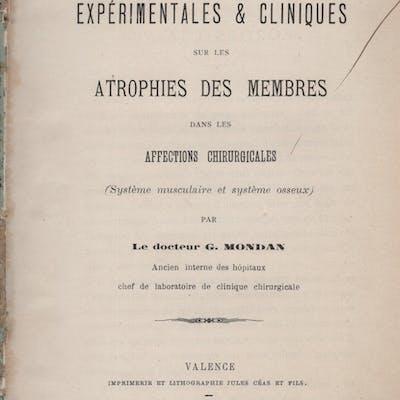 Recherches Expérimentales & Cliniques sur les Atrophies...