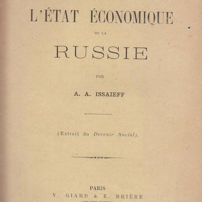 Aperçus sur le présent & l'avenir de l'État Économique de la Russie