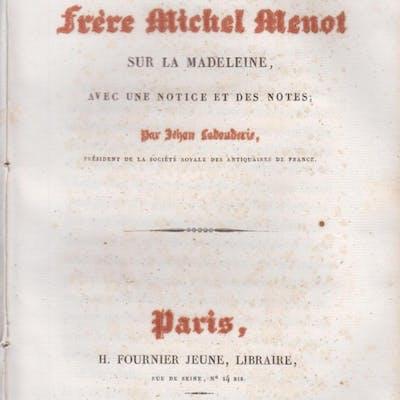 Sermons de Frère Michel Menot sur la Madeleine
