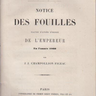 Cimetière Gaulois de Cély (Seine-et-Marne) - Notice des...