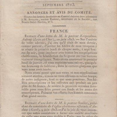 Société des Missions Évangéliques établie à Paris