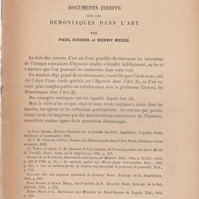 Documents inédits sur les Démoniaques dans l'Art