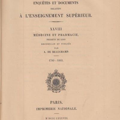 Ministère de l'Instruction Publique et des Beaux-Arts...