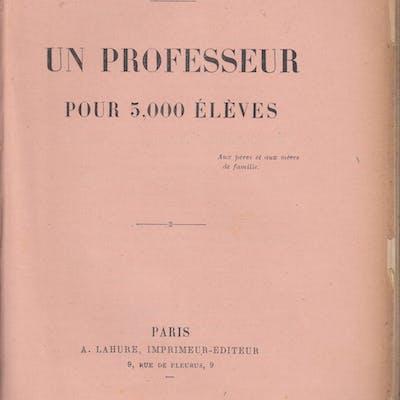 Un Professeur pour 5000 Élèves. Olivier Benoist