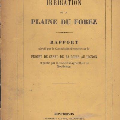 Irrigation de la plaine du Forez