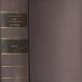 Annuaire de l'économie politique et de la statistique...