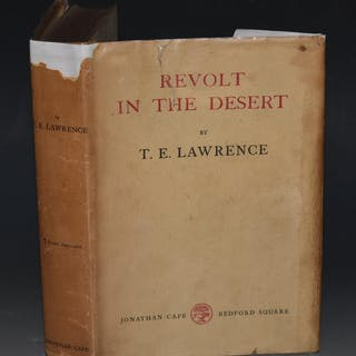 Revolt in the Desert LAWRENCE, T. E.: Military Subjects