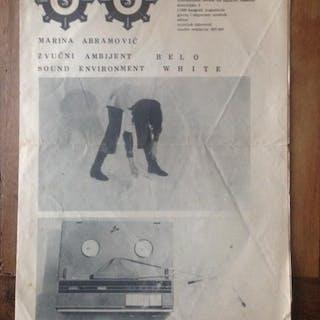 Signal Nº 6-7 Miroljub Todorovic (ed.) / Marina Abramovic...