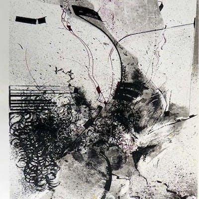 Lithografie. Seyde, Gerhard: Kunst: Moderne Grafik und Mappenwerke