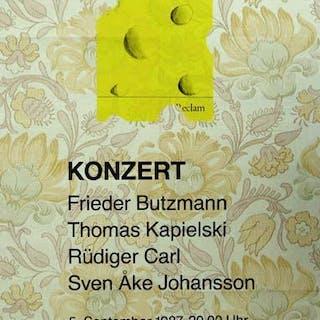 Konzert. [Plakat] (Hans-Georg Gadamer