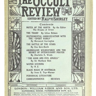 The Occult Review Fine Books on Magic, Antiquarian to Modern