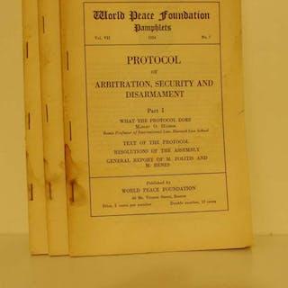 Protocol of Arbitration