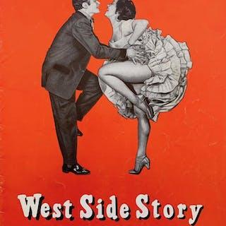 Original West Side Story 1959 Road Program Arthur Laurents
