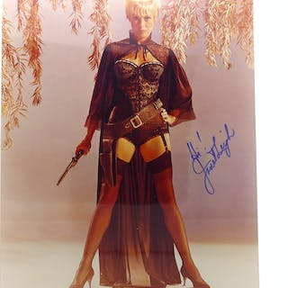 JANET LEIGH SIGNED PHOTOGRAPH Autographed Janet Leigh