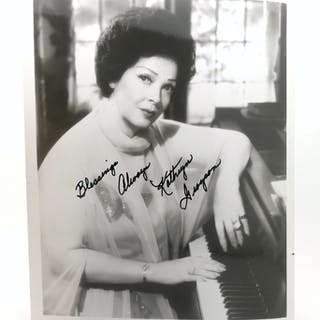 KATHRYN GRAYSON SIGNED PHOTOGRAPH Autographed Kathryn Grayson