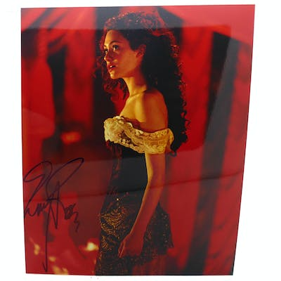 EMMY ROSSUM SIGNED PHOTOGRAPH Autographed Emmy Rossum