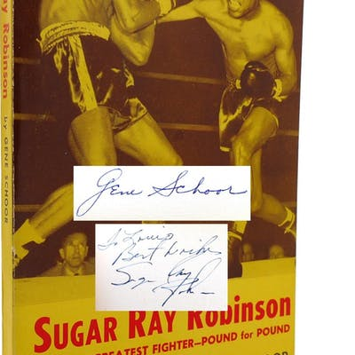 SUGAR RAY ROBINSON WORLD'S GREATEST FIGHTER-POUND FOR...