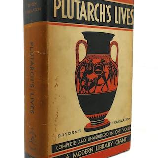 PLUTARCH'S LIVES Modern Library #G5 John Dryden