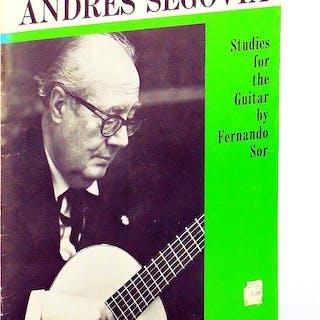 Twenty Studies for the Guitar by Fernando Sor   Music