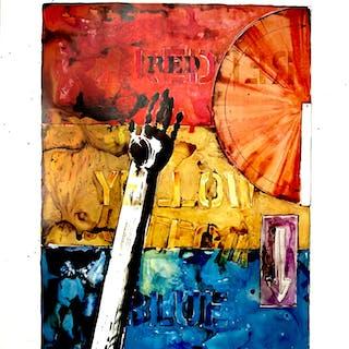 Jasper Johns-American Center Celebration-1982 Poster Johns, Jasper