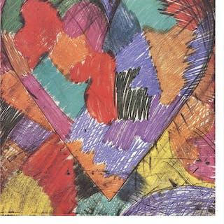 Jim Dine-Monotypes et Gravures-1984 Offset Lithograph Dine, Jim