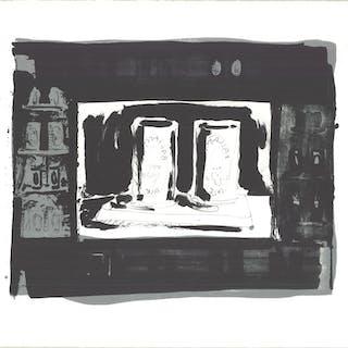 Jasper Johns-Ale Cans-1975 Lithograph-SIGNED Johns, Jasper